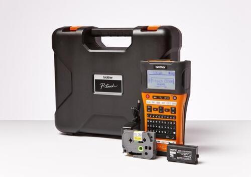 BROTHER PT-E550WVP - tiskárna čár. kódů, textů a el. značek + potisk bužírek+WiFi - 2