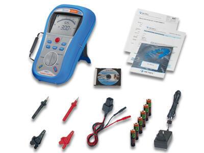 METREL Smartec  INSULATION / CONTINUITY (MI3121) - přechodové a izolační odpory - 2