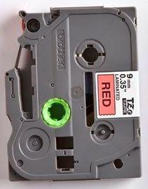 TZe-421 - červená/černý tisk, 9 mm - 2
