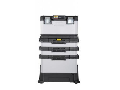 FatMax kovoplastový pojízdný montážní box - 2