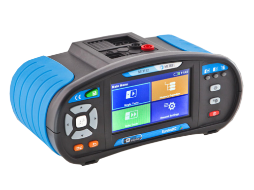 METREL Eurotest XC EU (MI 3152) - revize instalací a hromosvodů + barevný dotykový displej - 3