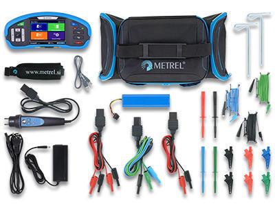 METREL Eurotest XD ST (MI 3155) - revize instalací a hromosvodů + barevný dotykový displej - 3