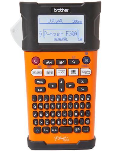 BROTHER PT-E300VP - tiskárna čár. kódů, textů a el. značek + potisk bužírek - 3