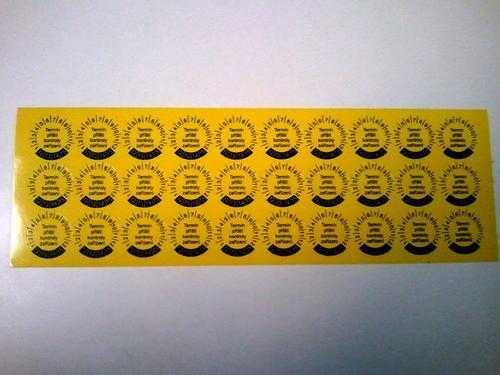 IP9080 - štítky pro označování příští kontroly (30 ks) - 3