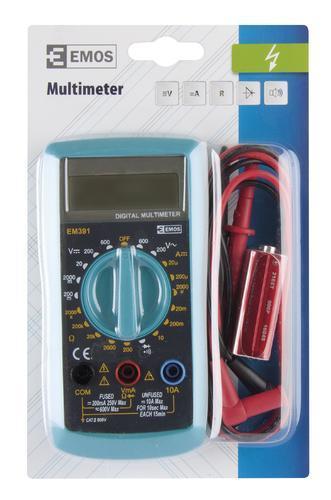 EM391 - multimetr - 3
