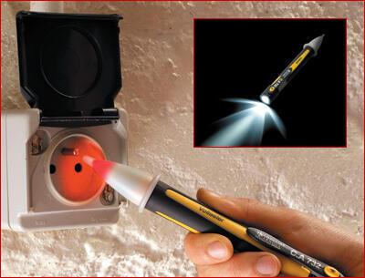 C.A 732 Volt Tester  - bezdotykový indikátor napětí se svítilnou - 3