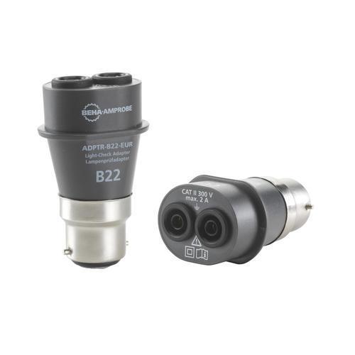 BEHA AMPROBE ADPTR-KIT-EUR - Sada adaptérů do patic B15, B22, E14, E27, GU10 s pouzdrem - 3
