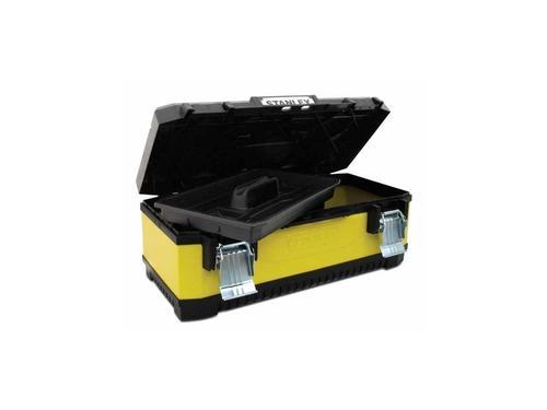 "STANLEY kovoplastový box na nářadí - žlutý, 23"" - 3"