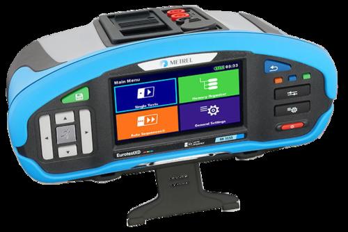 METREL Eurotest XD EU (MI 3155) - revize instalací a hromosvodů + barevný dotykový displej - 3