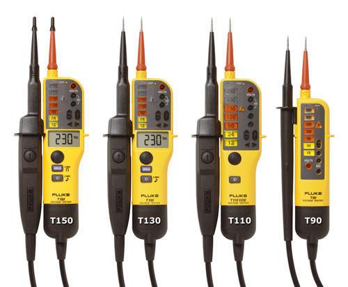 FLUKE T150/VDE - tester napětí/spojitosti s LCD a přepínatelným zatížením, měření odporu - 3