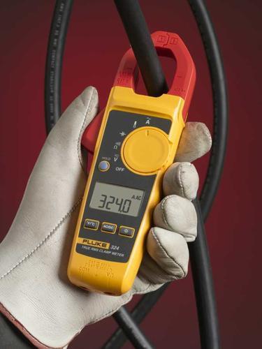 FLUKE 324 - klešťový multimetr I(AC), U(AC/DC), R, kapacita, teplota - 3