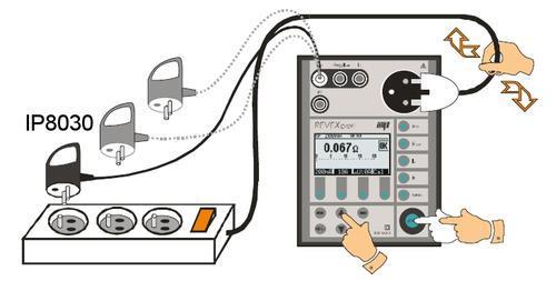IP8030 - adaptér pro testování prodlužovacích přívodů - 3