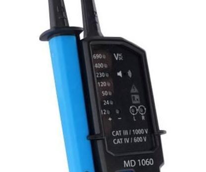 METREL MD 1060 - dig. LED zkoušečka napětí, spojitosti a sledu fází - 3