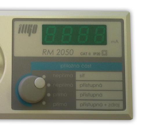 RM 2050 - měření příložných částí ve zdravotnictví - 3