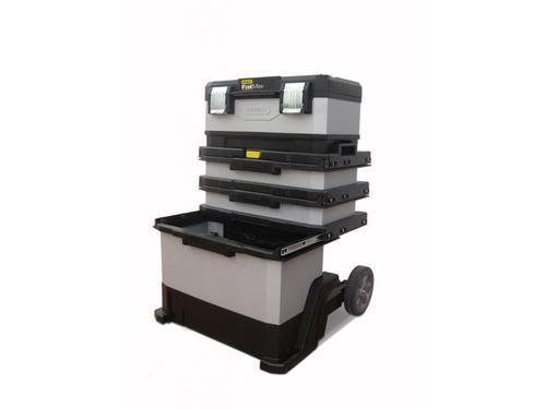 FatMax kovoplastový pojízdný montážní box - 3