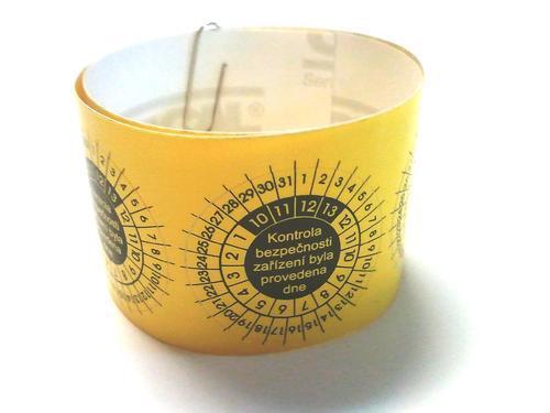 IP9081 - štítky pro označování kontrol svářeček (10 ks) - 3