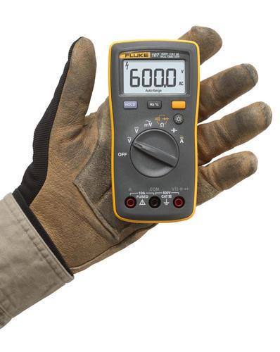 FLUKE 107 ESP - Digitální multimetr U (ss/st), I(ss/st), odpory, kapacita, diody - 4