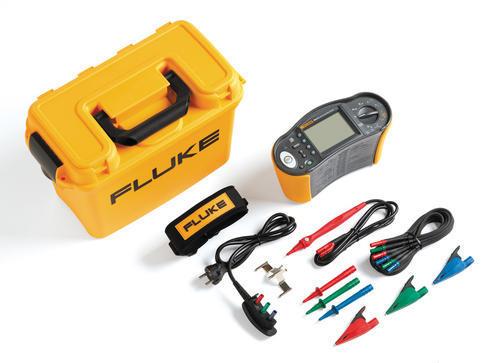 FLUKE 1664FC - revize instalací, hromosvodů a RCD A/AC/B + Fluke Connect - 4