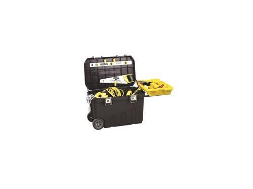 STANLEY pojízdný box na nářadí s kovovými přezkami, Mobile Jobchest - 4
