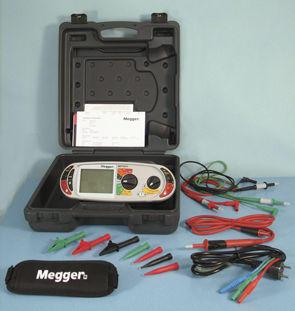Megger MFT 1815 - sdružený revizní přístroj - 4