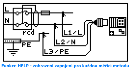 METREL Eurotest XE BT (MI 3102 BT) - revize instalací a hromosvodů + bluetooth - 4