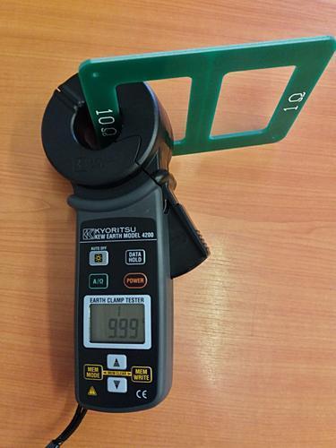 KEW 4200 - klešťový měřič uzemnění a proudů včetně kalibrace - 4