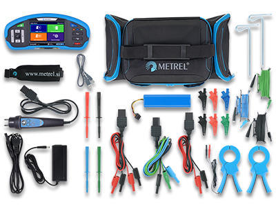METREL Eurotest XD EU (MI 3155) - revize instalací a hromosvodů + barevný dotykový displej - 4