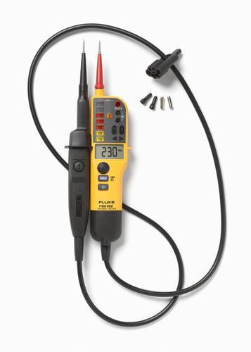 FLUKE T150/VDE - tester napětí/spojitosti s LCD a přepínatelným zatížením, měření odporu - 4