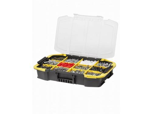 STANLEY Click&Connect box (25 cm) na nářadí s možností připojení organizeru - 4