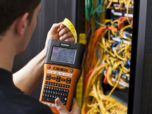 BROTHER PT-E550WVP - tiskárna čár. kódů, textů a el. značek + potisk bužírek+WiFi - 4