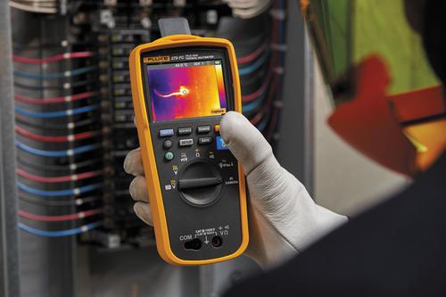 FLUKE 279 FC - termální multimetr termokamera (80x60), I(AC), U(AC), R, Hz, kapacita - 4