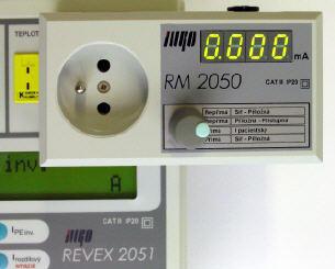 RM 2050 - měření příložných částí ve zdravotnictví - 4