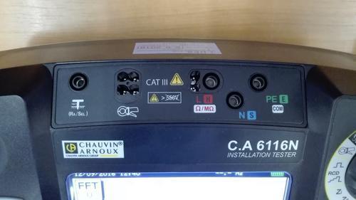 C.A 6116N - revize instalací a hromosvodů - 5