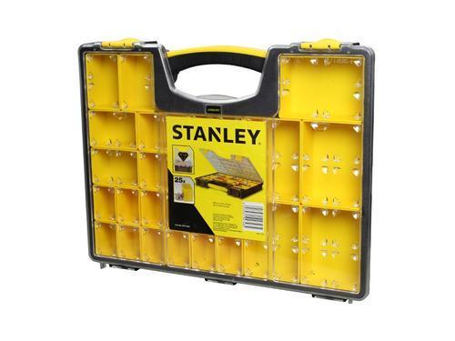 STANLEY profesionální organizer s 25 přihrádkami - mělký - 5