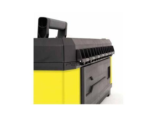 "STANLEY kovoplastový box na nářadí - žlutý, 23"" - 5"