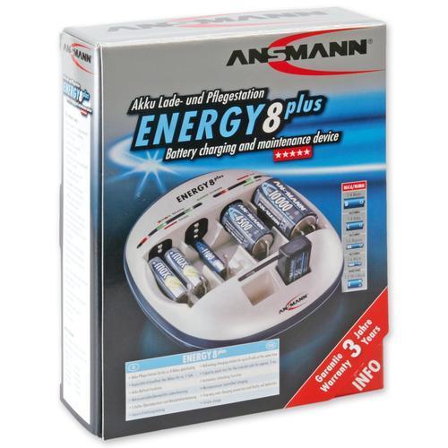 ANSMANN - ENERGY 8 plus  (nabíječka AKU) - 5