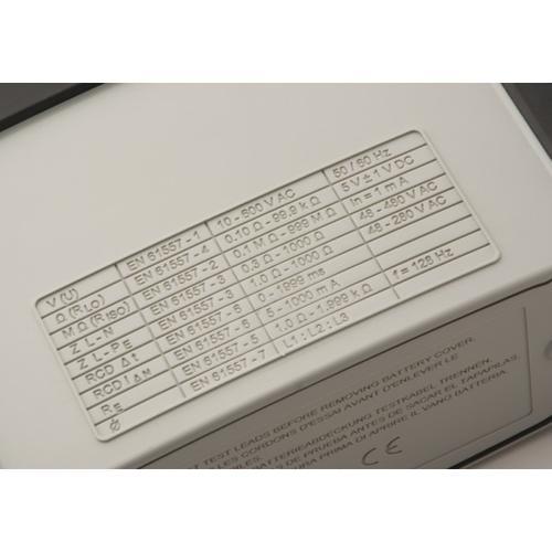 Megger MFT 1835 - sdružený revizní přístroj - 5