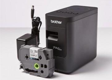 BROTHER PT-P750W - tiskárna zalaminovaných samolepících štítků - 5