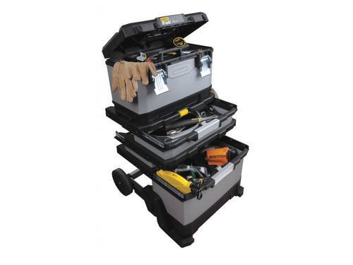 FatMax kovoplastový pojízdný montážní box - 6